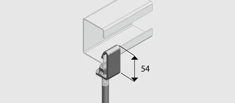 Epc12 Beam Clamp For M12 Threaded Rod Zp Ezystrut