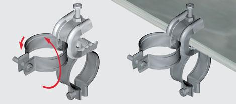 Ecbc Conduit Beam Clamps Ss Ezystrut