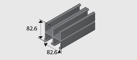 E1001-C41 Combination Channel/Strut SS