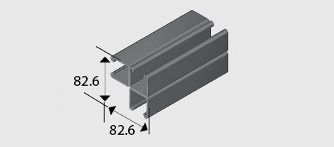 E1001-C3 Combination Channel/Strut SS