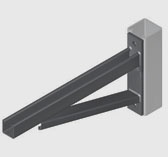 Cantilever brackets ezystrut for Cantilever counter support