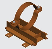 E142 Heavy Duty Slide Guide for Copper Pipe