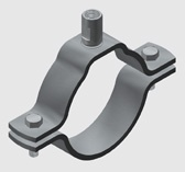 E18 Medium Duty Pipe Clamp for Copper Pipe