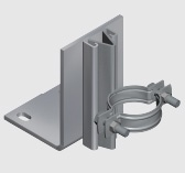 E190 Floor Mounted Riser Guide for Steel Pipe