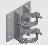 E191A Wall Mounted Anchor for Steel Pipe