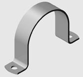 E4 Saddle Clamp for PVC Pipe PW   EzyStrut