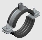 E8L Lined Insulated Pipe Clamp