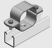 Cable and Conduit Guards; Cable Cl&s u0026 Fittings  sc 1 st  EzyStrut & Cable Clamps u0026 Fittings | EzyStrut