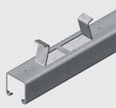 E1000CI 41x41mm Concrete Insert Channel