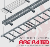 AS3013:2005 Fire Rated Cable Supports