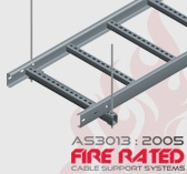 AS3013:2005 Fire Rated Cable Ladder