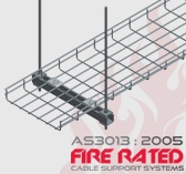 AS3013:2005 Fire Rated Cable Mesh