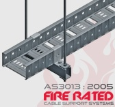 AS3013:2005 Fire Rated Cable Tray