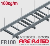 FR100 Fire Rated Cable Ladder