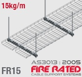 FR15 AS3013:2005 Fire Rated Cable Mesh